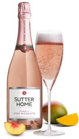 Sutter Home Pink Moscato Bubbly